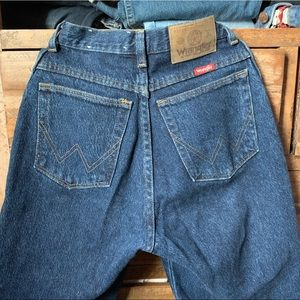 Authentic Vintage Wrangler High Waisted Jeans
